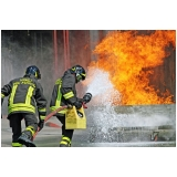 curso brigada de incêndio escola Limão