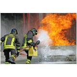 curso brigada de incêndio shopping Marapoama