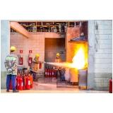 cursos brigada de incêndio shopping Campo Grande