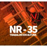 cursos nr 35 para obra civis Vila Marcelo