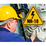onde faz curso nr10 para serviços com eletricidade São Lourenço da Serra